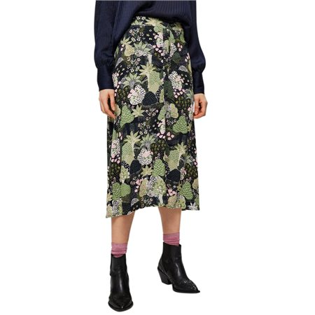 Selected Femme Night Sky Marina Midi Skirt  - Click to view a larger image