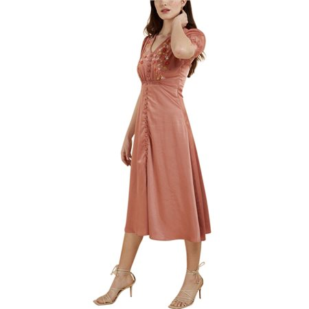 FRNCH Paris Pale Rose Adema Dress  - Click to view a larger image