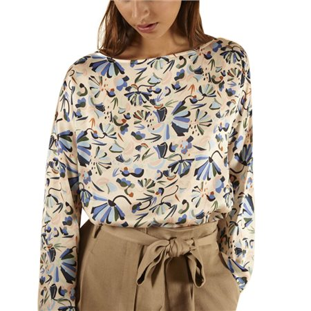 FRNCH Paris Pale Pink Cyriane Blouse  - Click to view a larger image