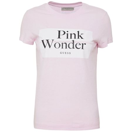 Guess Pink Wonder T-Shirt  - Click to view a larger image