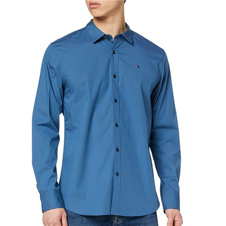 Tommy Jeans Audacious Blue Shirt  - Click to view a larger image