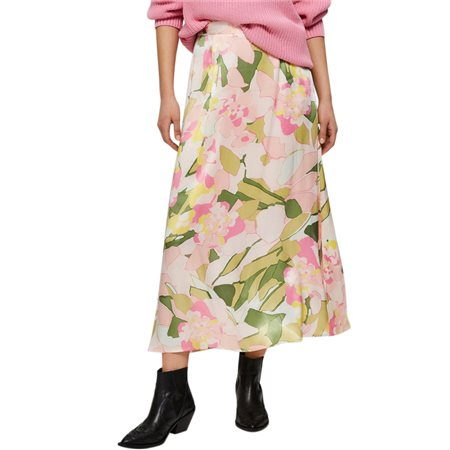 Selected Femme Rosebloom Mola Ankle Skirt  - Click to view a larger image