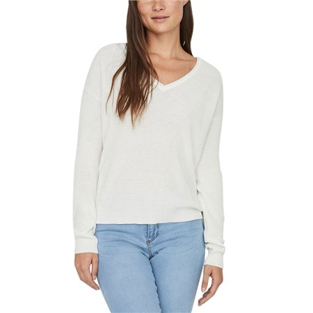 Vero Moda V-Neck Knitted Pullover  - Click to view a larger image