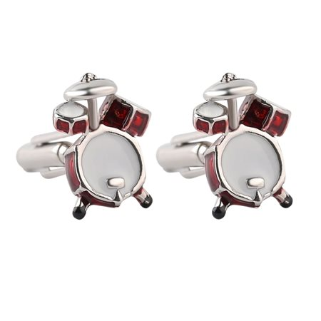 Evolve Clothing Drum Cufflinks  - Click to view a larger image