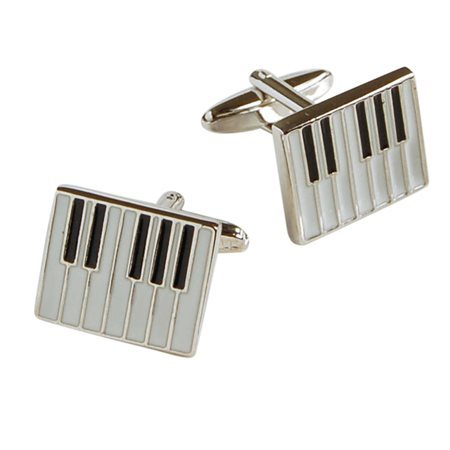 Evolve Clothing Piano Cufflinks  - Click to view a larger image