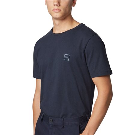 BOSS Navy Tales T-Shirt  - Click to view a larger image