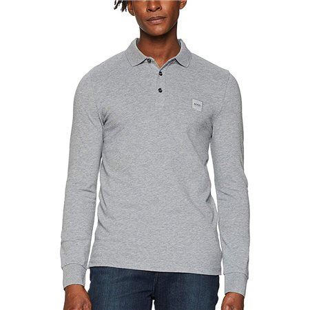 BOSS Light Grey Passerby Polo  - Click to view a larger image