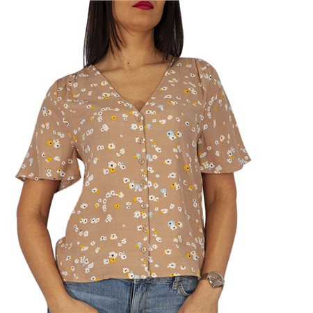ICHI Natural Angel Floral Blouse  - Click to view a larger image