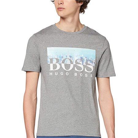 BOSS Grey Trek4 T-Shirt  - Click to view a larger image
