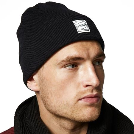 Jack And Jones Accessories Black Flex Beanie  - Click to view a larger image