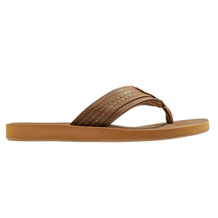 Jack And Jones Tobacco T-Bar Flip Flop  - Click to view a larger image
