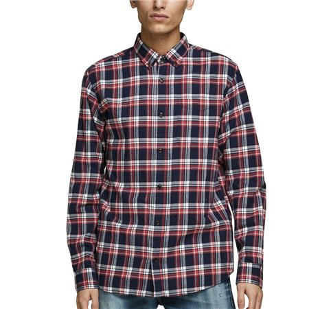 Jack & Jones Essentials Checked Shirt  - Click to view a larger image