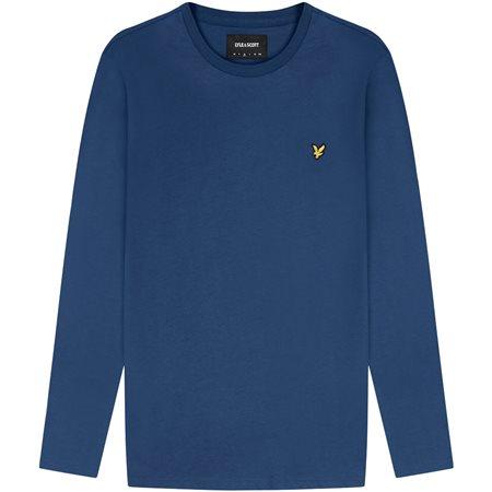 Lyle & Scott Indigo Long Sleeve T-Shirt  - Click to view a larger image