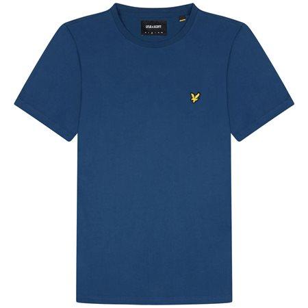 Lyle & Scott Indigo Plain T-Shirt  - Click to view a larger image