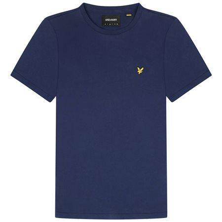 Lyle & Scott Navy Plain T-Shirt  - Click to view a larger image