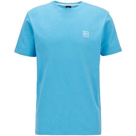 BOSS Aqua Single Jersey Cotton T-Shirt  - Click to view a larger image