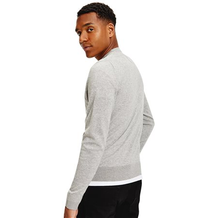 Tommy Hilfiger Grey Regular Fit Crew Neck Jumper 2