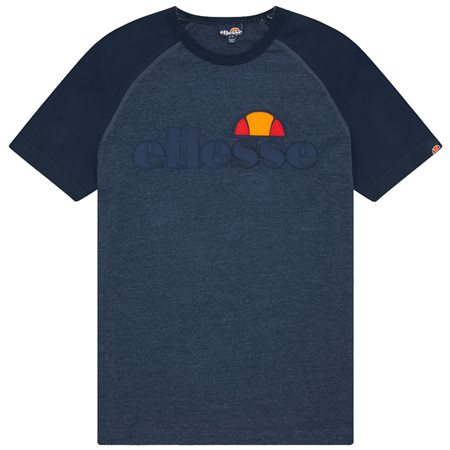 Ellesse Navy Marl Coper T-Shirt  - Click to view a larger image