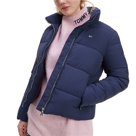 Tommy Hilfiger Twilight Navy Recycled Nylon Down Jacket 1