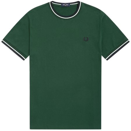 Fred Perry Twin Tipped Ringer T-Shirt  - Click to view a larger image