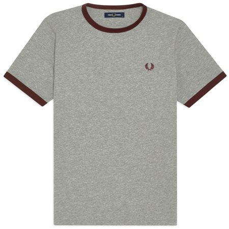 Fred Perry Steel Ringer T-Shirt  - Click to view a larger image