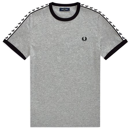 Fred Perry Steel Taped Ringer T-Shirt  - Click to view a larger image