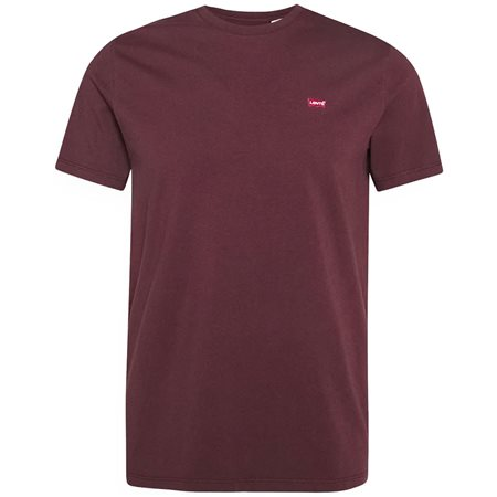 Levis Bordeaux Original Housemark T-Shirt  - Click to view a larger image