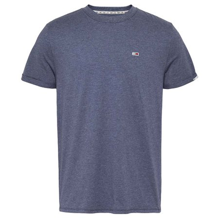 Tommy Jeans Twilight Navy Textured T-Shirt  - Click to view a larger image