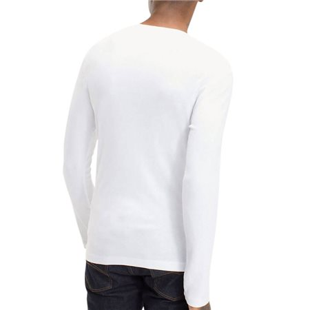 Tommy Hilfiger White Long Sleeve  Organic Cotton T-Shirt 2