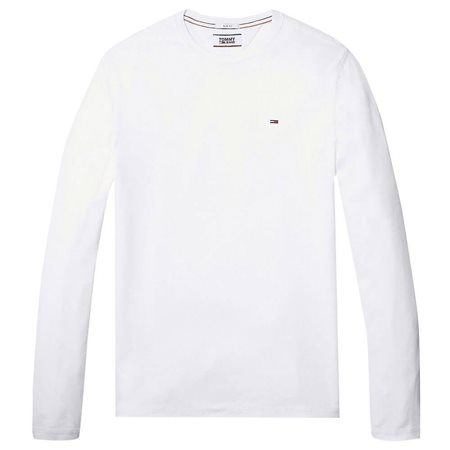Tommy Hilfiger White Long Sleeve  Organic Cotton T-Shirt 4