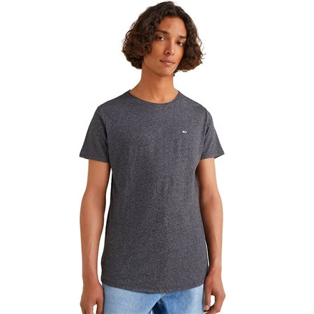 Tommy Hilfiger Black Slim Jaspe T-Shirt 1