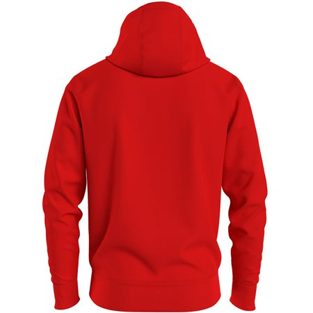 Tommy Hilfiger Firework Red Tommy Logo Hoodie 2