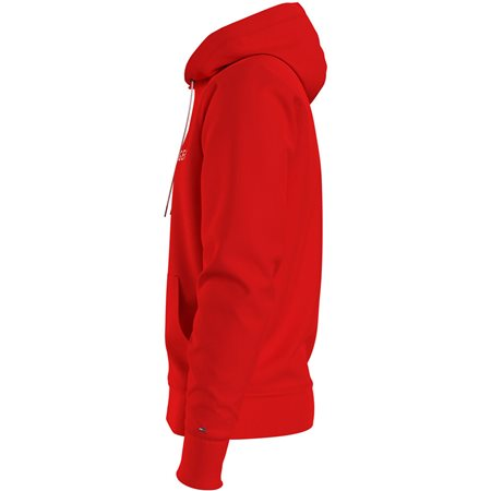 Tommy Hilfiger Firework Red Tommy Logo Hoodie 3