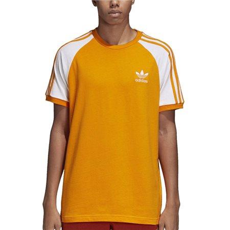 17c9d861acb3 Orange 3-Stripes T-Shirt - M
