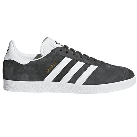 adidas Originals Solid Grey Gazelle Trainers  - Click to view a larger image