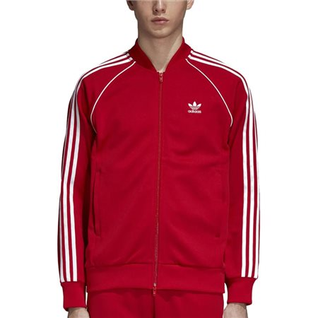 adidas Originals Red Sst Track Top  - Click to view a larger image