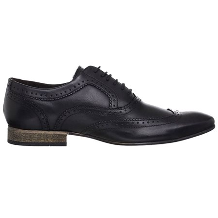 Base London Nutmeg Brogue Black  - Click to view a larger image