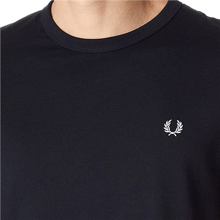 Fred Perry Navy Ringer T-Shirt 5