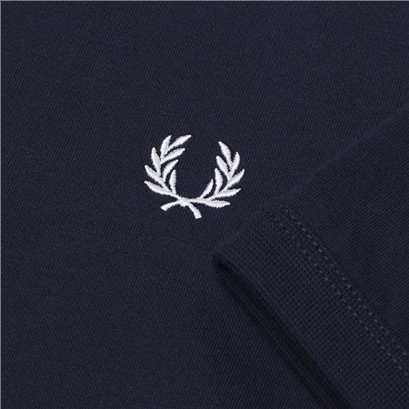 Fred Perry Navy Ringer T-Shirt 8