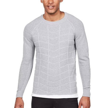 G-Star Grey Suzaki Moto Knit  - Click to view a larger image