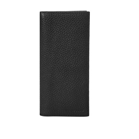 Remus Uomo Black Leather Jacket Wallet  - Click to view a larger image