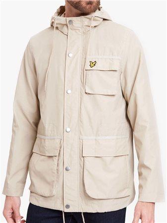 Hooded Jacket Light Stone - XS