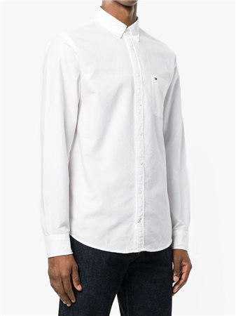 19f950edcc30 Tommy Hilfiger Engineered Oxford Shirt Bright White