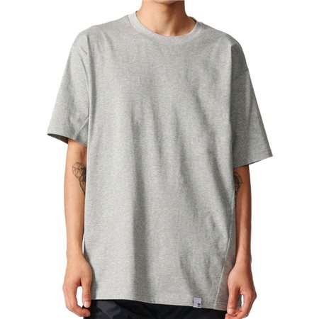 adidas Originals Grey Heather X By O T-Shirt  - Click to view a larger image
