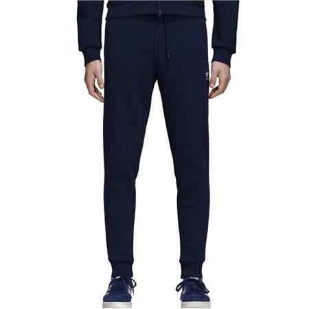 adidas Originals Navy Slim Flc Pants  - Click to view a larger image