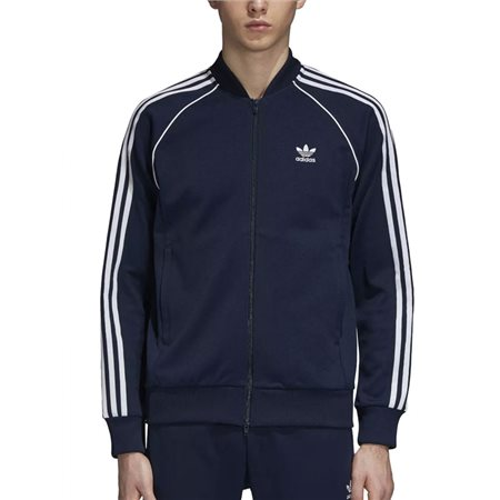 adidas Originals Navy Sst Track Top  - Click to view a larger image