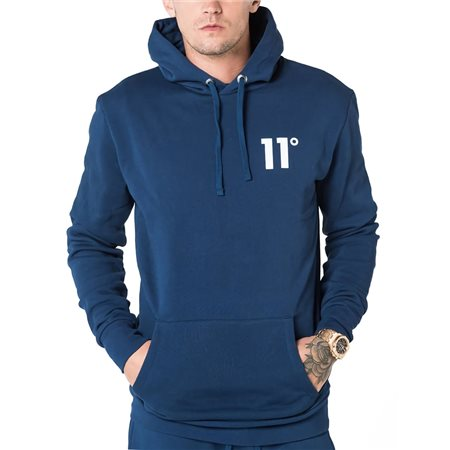 11 Degrees Navy Core Pullover Hoodie  - Click to view a larger image