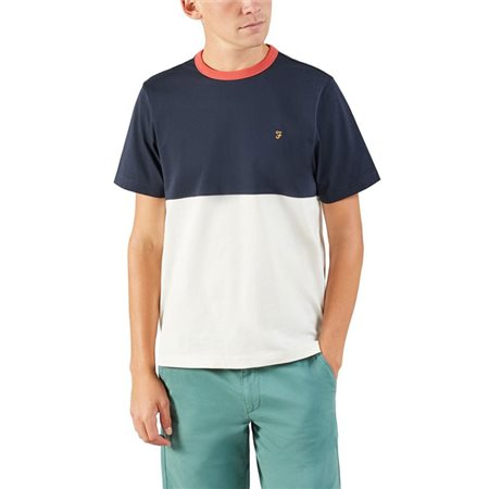 Farah True Navy Ewood T-Shirt  - Click to view a larger image