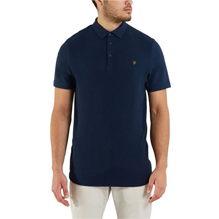 Farah Yale Pendelton Polo Shirt  - Click to view a larger image
