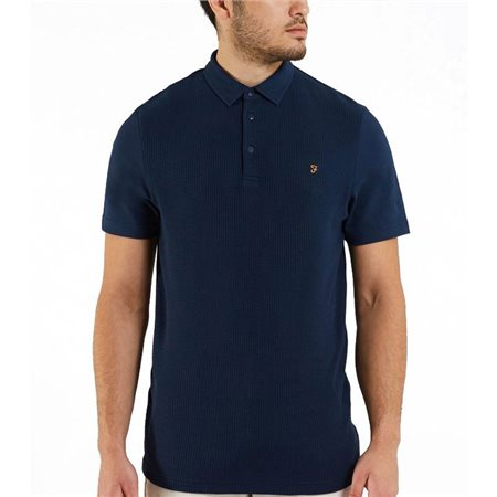 Farah Pendelton Heather Polo Shirt  - Click to view a larger image